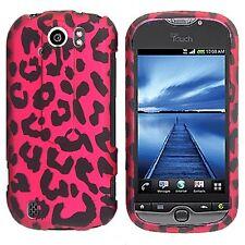 Hot Pink Leopard Case Cover T-Mobile myTouch 4G Slide