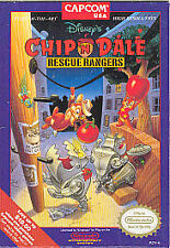 Disney's Chip 'N Dale: Rescue Rangers (Nintendo Entertainment System)-Cart Only