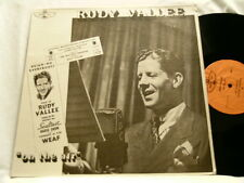 RUDY VALLEE On The Air John Barrymore Charles Laughton LP Joan Davis