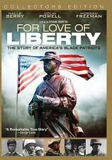 FOR LOVE OF LIBERTY THE STORY OF AMERICA'S BLACK PATRIOTS DVD  New Sealed!!