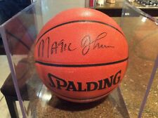 Magic Johnson Los Angeles Lakers Signed Basketball Upperdeck Authenticity