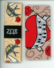 Medium ZOX Silver Strap LIKE NO OTHER Wristband with Card Reversible