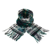 NECK SCARF TARTAN CAMPBELL DRESS 100% PURE LAMBSWOOL KILT SCOTTISH CLAN MENSWEAR