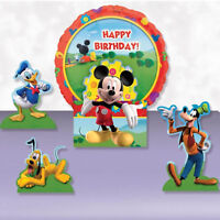 Disney Mickey Mouse Balloons Clubhouse Party Table Centrepiece Decoration Kit