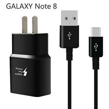 For Samsung Galaxy Note 8 Lightning Adaptive Fast Rapid Home Wall Charger +Cable
