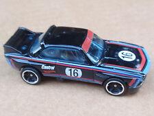 2016 Hot Wheels 73 BMW 3.0 CSL RACE CAR 190/250 BMW LOOSE Black