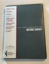 Before Sunset For Your Consideration Fyc Dvd Free Ship Promo Screener 2004 New