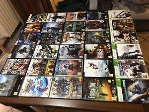 Lotto giochi Xbox 360 E Pc 30 Pezzi Vedi Foto Giochi Pc Mai Usati