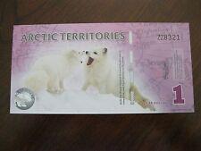 ARTIC TERRITORIES  2012  $1 POLAR DOLLAR