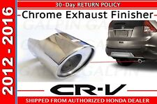 Genuine OEM Honda CR-V Chrome Exhaust Finisher 2012 - 2016       (08F53-T0A-100)