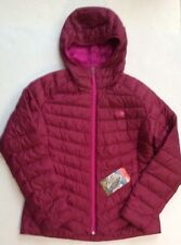 The North Face Womens Tonnerro Down Hoodie Jacket Plum Tree Purple size  Medium 25c88ef02