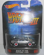 1/64 Hot Wheels Retro K Case Back To The Future 3 Time Machine 1955