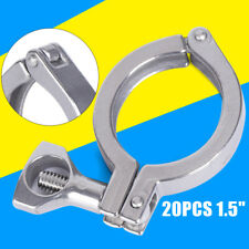 15 Inch Tri Clamp Clover Sanitary Fits 505mm Od Ferrule Flange 20pack