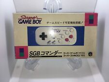 Hori SGB Commander Super Game Boy SFC SNES Japan pad Controller famicom used