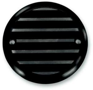 Joker Machine Points Cover  Finned - Black Anodized 02-98TC*