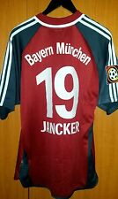trikot Fußball BAYERN MUNCHEN Carsten Jancker 1999 adidas L rot