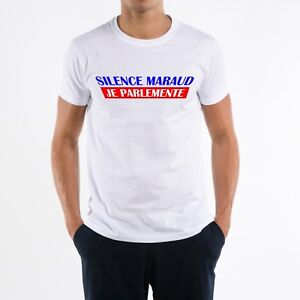 T-SHIRT HOMME SILENCE MARAUD JE PARLEMENTE
