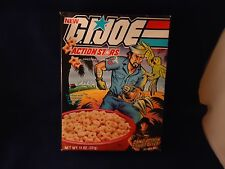 Rare Retro G.I. Joe Shipwreck Ralston Action Stars Empty Cereal Box GI Joe