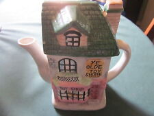 Sweet Vintage cottage shaped Teapot, Toy Shop