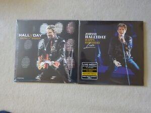 JOHNNY HALLYDAY : LOT 2 VINYLES PICTURE DISC BERCY 2003 / HAPPY BIRTHDAY NEUFS