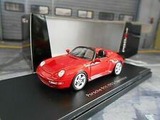 PORSCHE 911 993 Carrera Speedster rot red Pro R Schuco 1:43