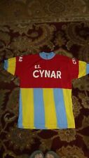 Vintage Cynar wool cycling jersey Woolistic embroidered XL NM Eroica