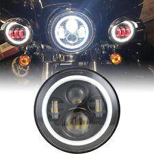 For 93-08 Ducati Monster 1000 600 620 695 750 800 900 S4 Sport Halo LED Headlamp