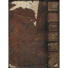 HISTOIRE du PEUPLE de DIEU Origine ˆà Naissance du MESSIE par BERRUYER 1742 T5