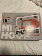 """Goliath 18� x 12"""" Mini Basketball Hoop"""