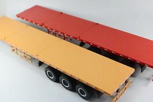 Futian Auman GTL Trailer and Flatbed trailer carriage alloy truck model (L)