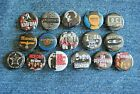 Post Punk Industrial Goth Band Buttons Pins 80s Music 1