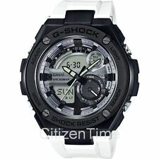 -NEW- Casio G-Shock G-Steel White / Black Watch GST210B-7A