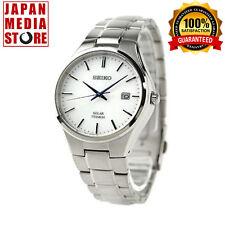 Seiko SPIRIT SBPX073 Elegant Men's Watch Solar Powered - 100% GENUINE JAPAN