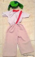 EL CHAVO OCHO Costume Kid 12T Boy Kid Party Halloween Traje Birthday Nino Child