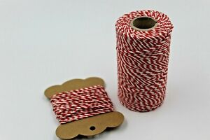 Bakers Twine, 10 meter Length, Packaging String, Gift Wrap, Various Colours