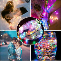 20/50/100 LED Mini USB Copper Wire String Fairy Lights Party Home Decorate 10M