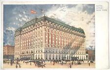 Hotel Astor New York Postcard 1920s, 3-09