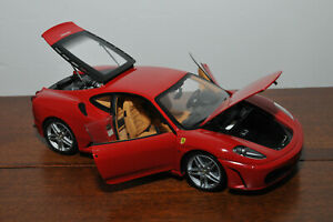 Ferrari F430 Rosso Corsa 322 - BBR HE180005 1/18 - No mirrors Sans rétroviseurs
