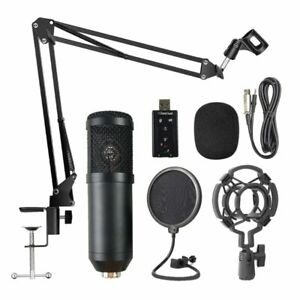 Professional Suspension Microphone Kit Live Broadcasting Recording Pc ,Streaming