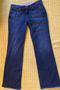 "LUCKY BRAND Sz 12/31 Blue Jeans 32x32 10""rise"