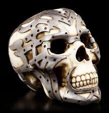 CALAVERA CON exoskelett - Gothic Cráneo Robot Decoración