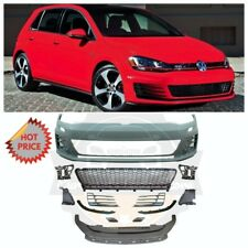 VW MK7 GTI CONVERSION POLY PLASTIC FRONT BUMPER FOR 15-17 VW MK7 GOLF & GTI