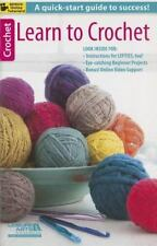Learn to Crochet by Leisure Arts, Good Book