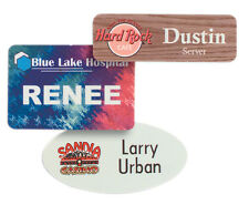 Custom Full Color Name Badges - Name Tags