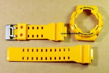Casio G-Shock GA-100A-9 Mustard Yellow Color Original Strap and Bezel set
