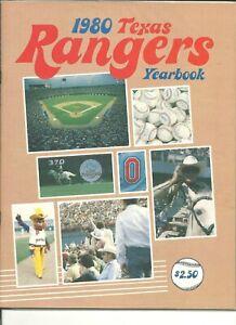 1980 Texas Rangers MLB Baseball Yearbook Beautiful Nolan Ryan American League