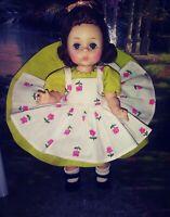 """Vintage 1955 Madame Alexander """"Wendy dressed for a Summer Morning"""" #424"""