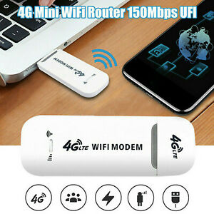 Unlocked 4G LTE WIFI Wireless USB Dongle Stick Mobile Hotspot Modem SIM Card