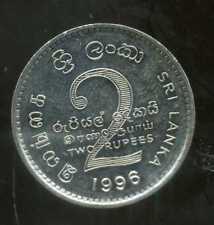 SRI LANKA  2 rupee 1996  ( SUP )  ( bis )