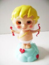 Solar Powered Dancing  Bobble Head Cupid  ~ With Bow And Arrow